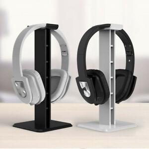 ABS Earphone Headset Hanger Headphone Stand Holder Desk Display Universal