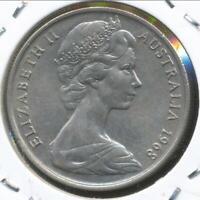 Australia, 1968 Ten Cents, 10c, Elizabeth II - Uncirculated