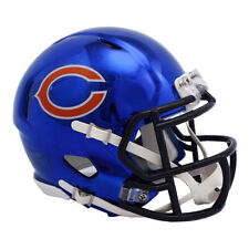 Chicago Bears Chrome Speed Mini Helmet New In Box 19262