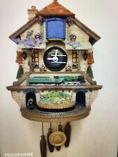 More details for flying scotsman clock limited  bradford edition cuckoo clock wall hanging #3809