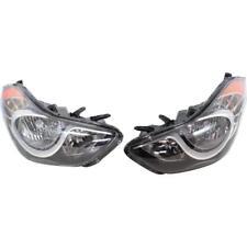 New HY2503161, HY2502161 Headlight Set for Hyundai Elantra 2011-2013