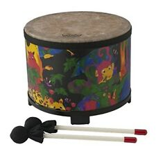 Kids Percussion Drum Children Floor Tom High Quality Sound Sturdy Durable 10""