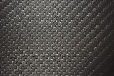 """Dk.Grey Carbon Fiber Marine Outdoor Auto Fabric Boat Upholstery 54""""W Vinyl BTY"""