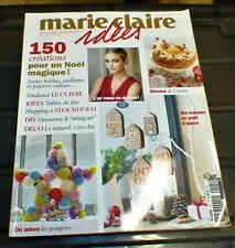 Catalogue MARIE-CLAIRE IDEES N°105 - Décembre 2014