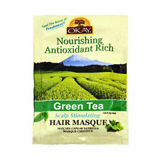 Okay Nourishing Antioxidant Rich Green Tea Scalp Stimulating Hair Masque 1.5oz