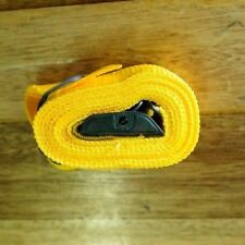 Fasty Strap - 1.5m / 150cm Yellow 25mm Wide 400KG Load Rated