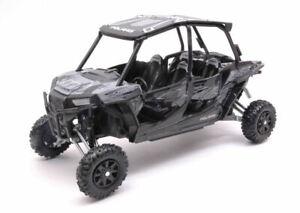 Model motorcycle Car diecast Polaris Rzr XP Turbo Eps Scale 1:18 vehicles New
