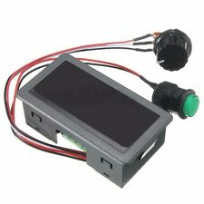 DC 6-30V 12V 24V MAX 8A Motor PWM Speed Controller With Didital Display Switch D
