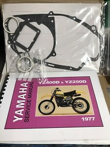 yamaha yz 400 1976 -77 Manual