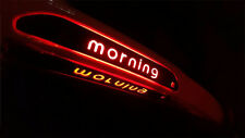 3rd Rear Brake Carbon Decal Sticker 1p For 11 15 Kia Picanto: All New Morning