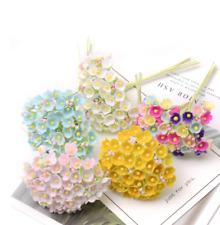 Flower Bouquet Wedding Party Decoration DIY Handmade Wreath Gift Scrapbooking
