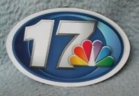 NBC 17 TV News Springfield Illinois Thin Magnet Souvenir Fridge MB98