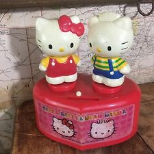 HELLO KITTY & Dear Daniel Moving Kissing Plastic Bank