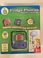 Unopened Leap Frog Fridge Phonics Magnetic Letter Set  Sing & Teach ABC 123