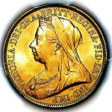 1893 Queen Victoria Great Britain Gold Two 2 Pounds Double Sovereign PCGS MS65