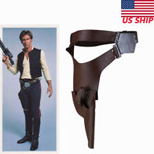 Han Solo Belt With Gun Holster The Force Awakens CosplayCostume Accessory Xcoser