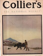 1906 Colliers March 10 - Maxfield Parrish cover