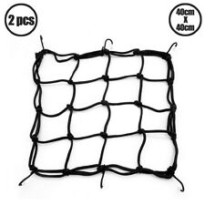2 Pcs 40X40cm 6 Hook Cargo Net for Motorcycle Bike Hold Down Helmet Mesh Storage