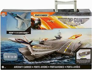 Matchbox porte-avions Top Gun Maverick junior 51 cm