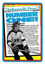 1990-91 Topps Tiffany #1 Wayne Gretzky