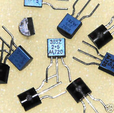 30 PCS - MOTOROLA LM385Z-2.5V  -  VOLTAGE REF DIODE