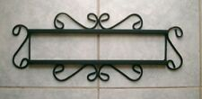 Iron Frame fits 4 Mexican Tiles Talavera 4x4 Horizontal