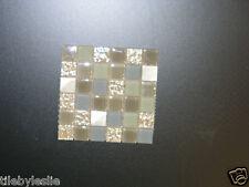 Confections Anisette Blue, Green, Beige, backsplash glass tile