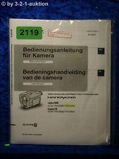 Sony Bedienungsanleitung CCD TRV228E /TRV428E /TRV255E /TRV265E (#2119)
