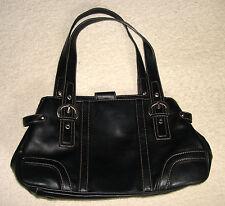 NINE WEST BLACK TOTE BAG
