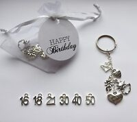 Gift For Birthday Keyring Handmade Keepsake Many Age 21st Best Friend Tag