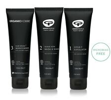 GREEN PEOPLE ORGANIC HOMME SCRUB IT - SHAVE NOW - COOL DOWN MEN` SET