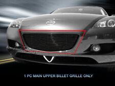 Black Billet Grille Grill Upper Insert For 2004-2008 Mazda RX-8