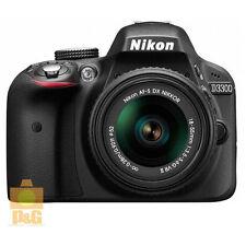 NEW BOXED NIKON D3300 DIGITAL CAMERA + AF-S DX 18-55mm F/3.5-5.6 G VR II / BLACK