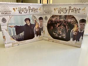 Harry Potter 2 Puzzle Set BRAND NEW 1000-Piece Each