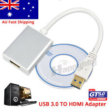 USB 3.0 to HDMI Cable Converter Display Graphic Adapter For Laptop PC HD 1080P
