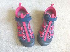 Quechua hiking/walking sandals, grey/pink, size 5, NEW