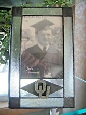 OKLAHOMA SOONERS OU Officially Licensed Glass Metal Vertical 4X6 Picture Frame