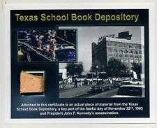 Texas School Book Depository- Genuine Piece of the Site of the JFK Assassination