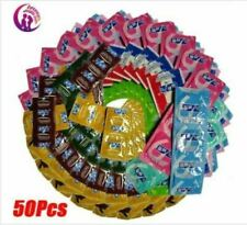 Condoms 50 pcs Adult Oil Condom Smooth Lubricated Condums For Men 50 Pack