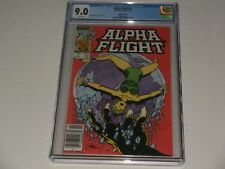 """Alpha Flight #4 Cgc 9.0 """"Canadian"""" Newsstand edition. Save 💲 Here! Key listings"""