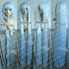 Project /Eirin / Hannah Cosplay Long Ice Blue Wig