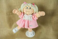 Cabbage Patch Kids First Edition Poseable Wired Blonde Blue Eyes 1990 CPK EUC