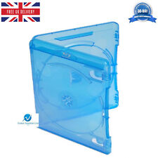 25 Double Blu ray Case 14 mm Spine New Replacement Amaray Cover Side by Side