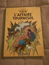 BD Tintin  L'affaire Tournesol Edition 1966