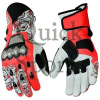 Nicky Hayden Motorcycle Racing Leathers Gloves All sizes Available