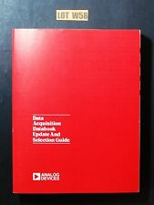 Analog Devices Data Acquisition Databook Update Guide 1986 Data Book Lot W58