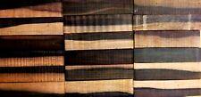 Two Tone African Ebony Wood Knife Blocks (Scales)