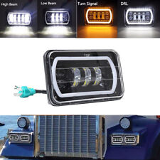 LED Headlight Square Bulb Hi/Low Sealed Beam for Jeep Cherokee XJ Truck Offroad