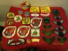 Large Lot of Patches Gold Wing Military Air Force Ainad Shriner GWRRA