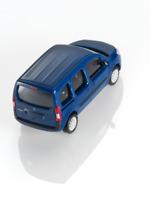 Mercedes-Benz Modellauto 1:87 PKW Citan 415 blau B66004121